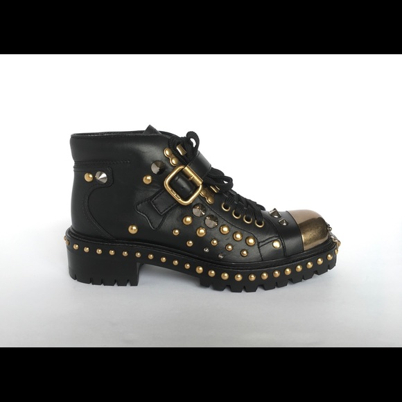 2747a14daacfe Miu Miu Studded Combat boots